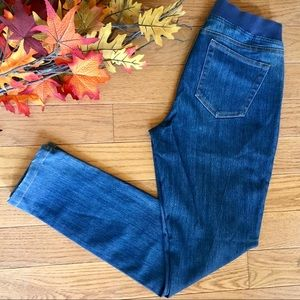 Boston Proper Elastic Waist Skinny Jean
